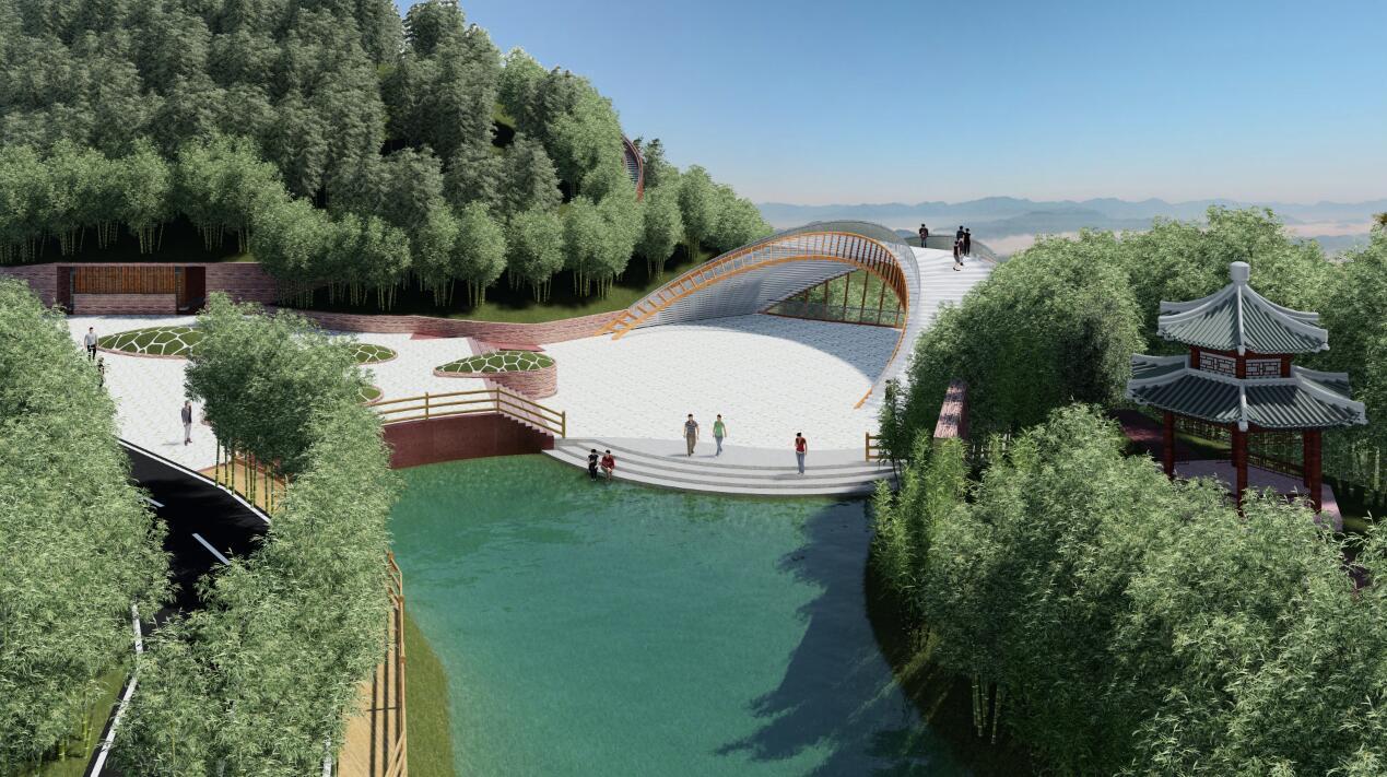 """蜀南竹海举行创5a首批建设项目集中开工仪式,标志着景区向""""转型跨越-2"""